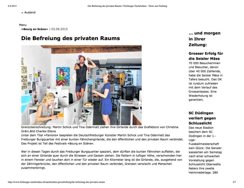 Die Befreiung des privat...ten - News aus Freiburg1